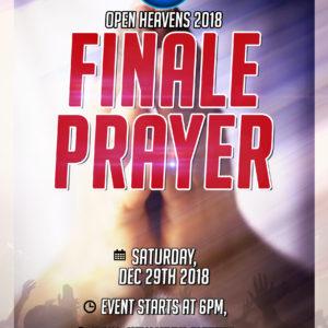 HOF Finale Prayer