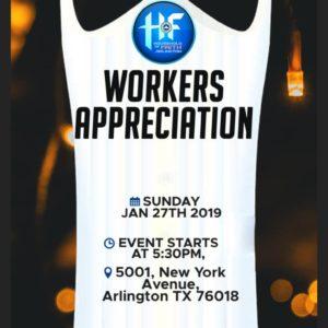 HOF Workers Appreciation