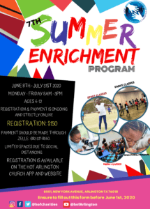 Summer Enrichment Program @ Household of Faith