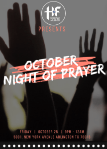 Night of Prayer @ Household of Faith