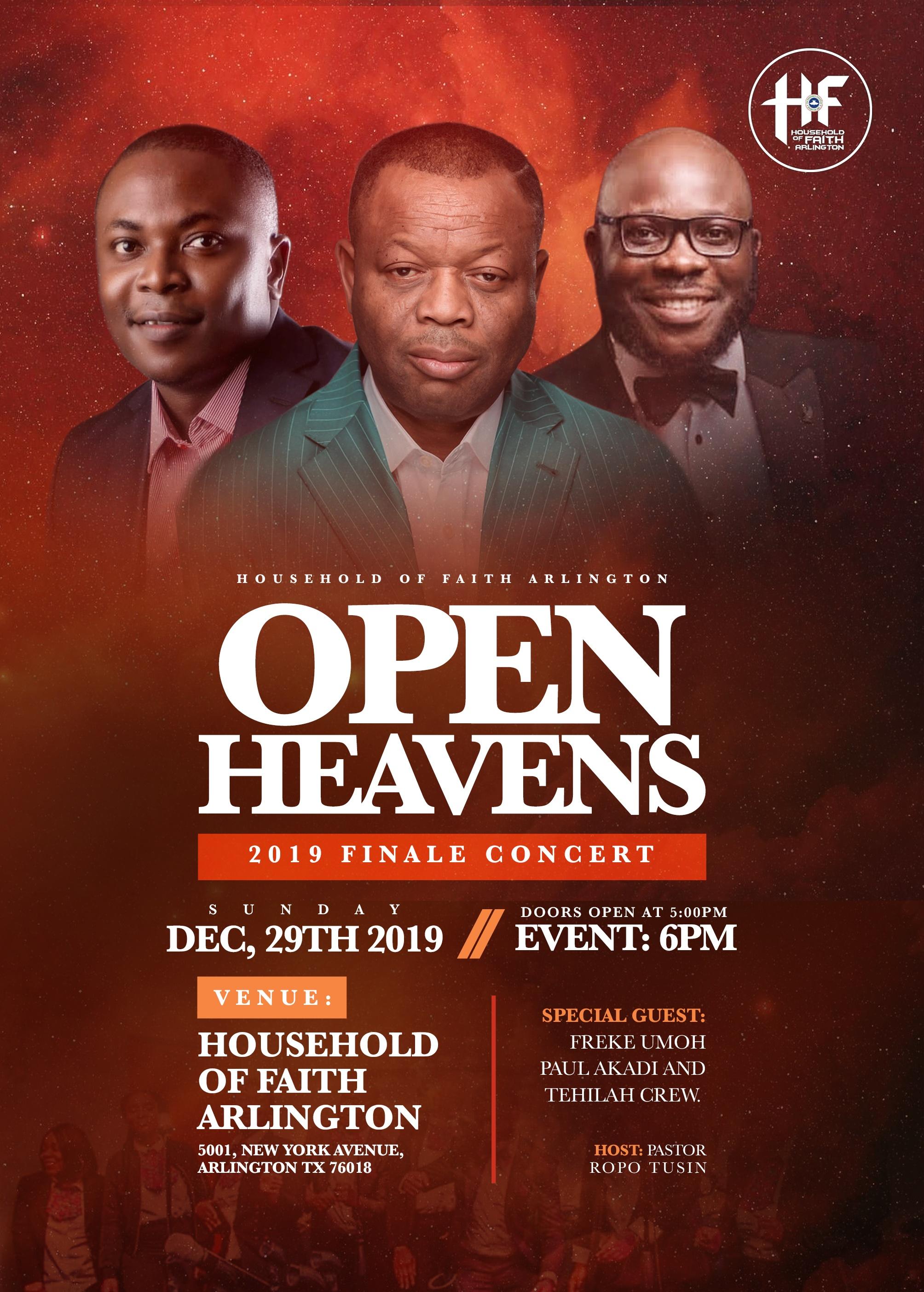 Open Heavens Finale Concert