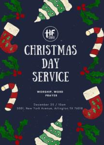Christmas Service @ Household of Faith