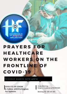 PRAYERS FOR HEALTHCARE WORKERS