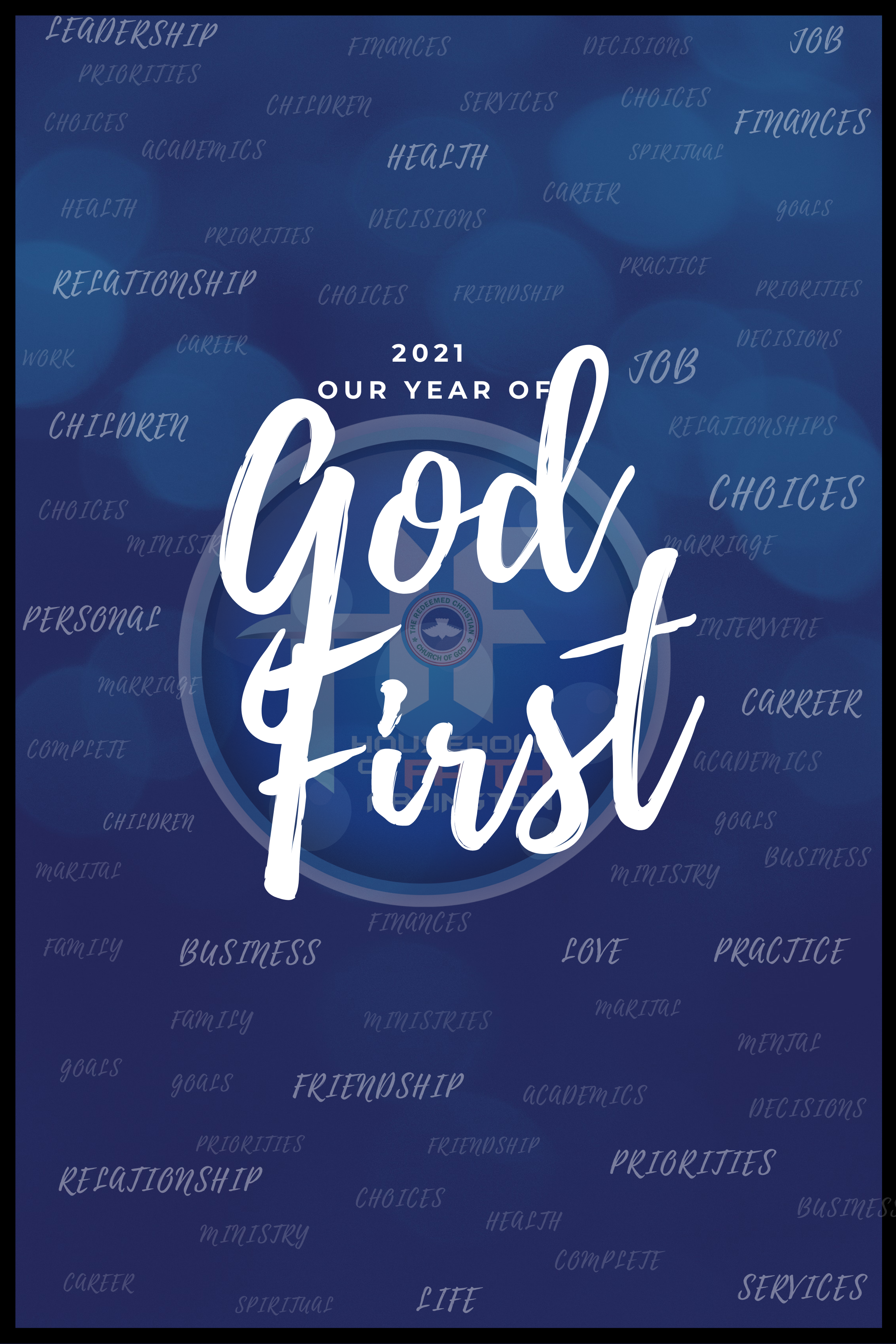 2021 Our Year of God First